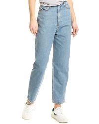 GRLFRND Kinsey Straight Leg Jean - Blue