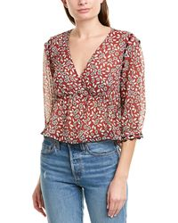 Ba&sh Blanche Blouse - Red