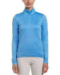 Nike Thermal Half-zip Pullover - Blue