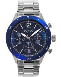 SO & CO - So&co New York Men's Yacht Club Watch - Lyst