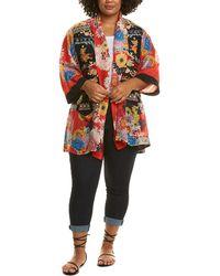 Johnny Was Plus Mishka Silk Kimono - Multicolor