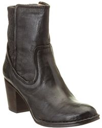 Frye - Lucinda Scrunch Leather Boot - Lyst