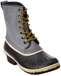 Sorel Slimpack 1964 Leather Boot - Blue
