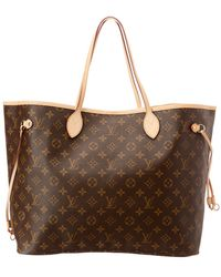 Louis Vuitton - Monogram Canvas Neverfull Gm - Lyst