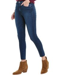 Joe's Jeans The Charlie Julie High-rise Skinny Crop - Blue