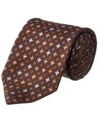 Louis Vuitton Silk Tie - Brown