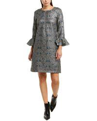 Anna Sui Garden Of Eden Sheath Dress - Gray