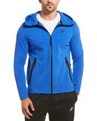Nike Sportswear Tech Full Zip Hoodie - Blue