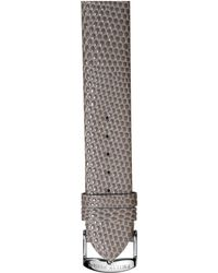 Philip Stein Leather Watch Strap - Small - Brown