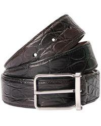 Brunello Cucinelli Crocodile Leather Belt - Multicolor