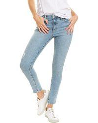 Joe's Jeans Mana High Rise Curvy Skinny Ankle Jean - Blue