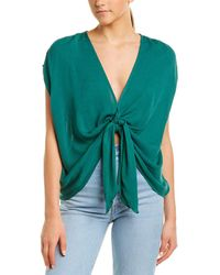 Sage the Label Summer In Paradise Top - Green