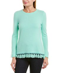 Sail To Sable Cashmere Jumper - Green
