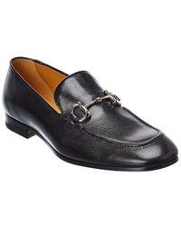 Gucci Horsebit Leather Loafer - Black
