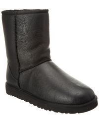 UGG - Classic Short Leather Boot - Lyst