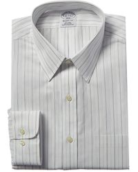 Brooks Brothers 1818 Regent Fit Dress Shirt - White