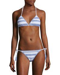 Suboo - Desert Muse Crochet Triangle Bikini Top - Lyst