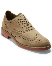Cole Haan 7day Wing Leather Oxford - Brown