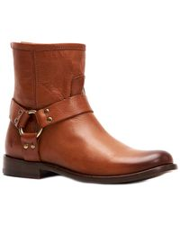 Frye - Phillip Harness Short Boots | Frye Since 1863 - Lyst