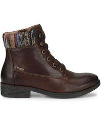 Comfortiva Trenton Leather Boot - Brown