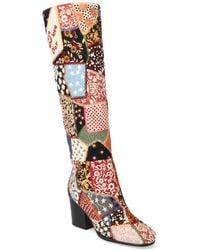 Dior Patchwork Boot - Multicolour