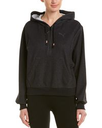 PUMA Feel It Cover Up Pullover - Black