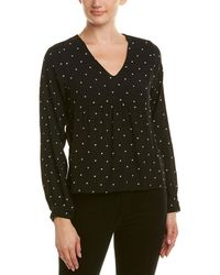 Maje - Embroidered Stars Blouse - Lyst