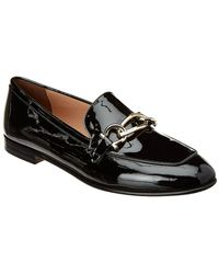 Ferragamo - Gancini Chain Leather Moccasin - Lyst