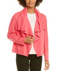 Anne Klein Compression Jacket - Pink