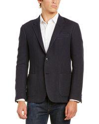 Ermenegildo Zegna Z Wool-blend Sportcoat - Blue
