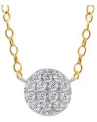 Meira T - 14k 0.23 Ct. Tw. Necklace - Lyst