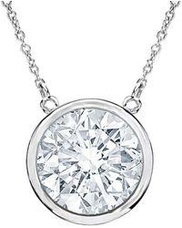 Diana M. Jewels . Fine Jewellery 18k 0.57 Ct. Tw. Diamond Necklace - Metallic