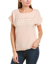 Vince Camuto Studded Top - Multicolour