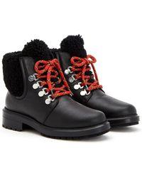 Aquatalia Leela Weatherproof Leather Boot - Black