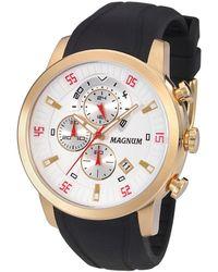 Magnum Crystal Watch - Metallic