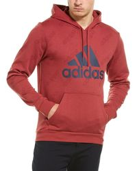 adidas Favourites Hoodie - Red