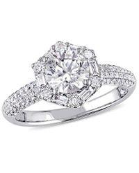 Rina Limor 18k 1.73 Ct. Tw. Diamond Engagement Ring - Metallic
