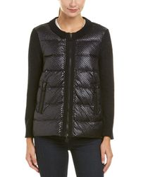 moncler cardigan - maglione textured down