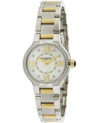 Raymond Weil - Women's Stainless Steel Diamond Watch - Lyst