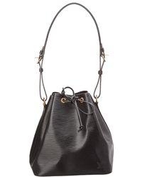 Louis Vuitton - Noir Epi Leather Noe Petite - Lyst