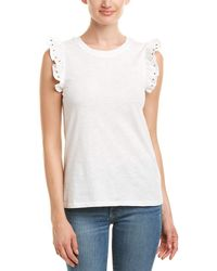 Romeo and Juliet Couture Studded Top - White