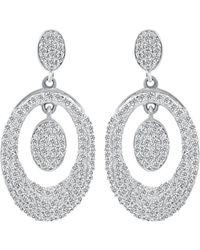 Diana M. Jewels - . Fine Jewelry 14k 0.62 Ct. Tw. Diamond Drop Earrings - Lyst