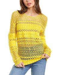 Maje Melisse Sweater - Yellow