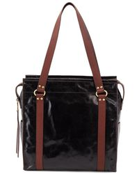 Hobo Reverie Leather Tote - Black