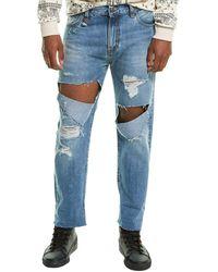 R13 Sid Jasper Straight Leg Jean - Blue