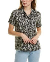 Solid & Striped Cabana Shirt - Black