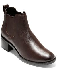Cole Haan Corinne Leather Chelsea Boot - Brown