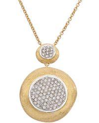 Marco Bicego Jaipur 18k Two-tone 0.59 Ct. Tw. Diamond Pendant Necklace - Metallic