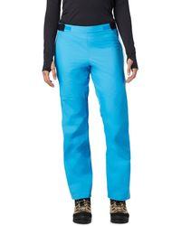Mountain Hardwear Exposure/2 Gore-tex Paclite Pant - Blue