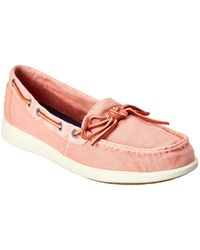 Sperry Top-Sider Oasis Canal Canvas Boat Shoe - Red